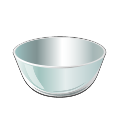 Glass Bowl Clipart