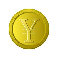 Yen Gold Coin Clipart