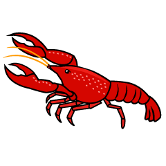 Crawfish Clipart