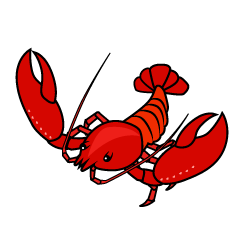 Lively Lobster Clipart