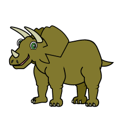 Triceratops Cartoon