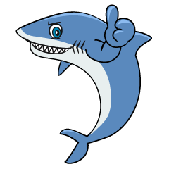 Thumbs up Shark Cartoon