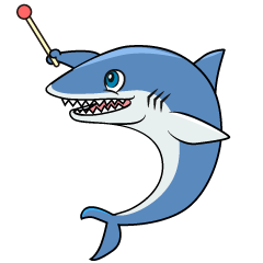 Explain Shark Cartoon