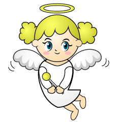 Flying Angel Cartoon