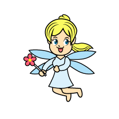 Gril Fairy Cartoon