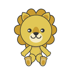 Stuffed Lion Clipart
