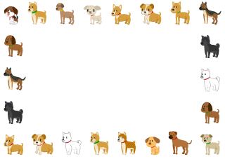Various Dog Border
