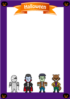 Monster Portrait Border