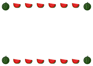 Watermelon Border