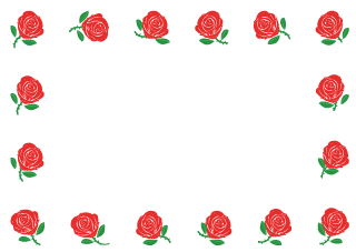 Red Rose Border