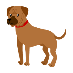 Tosa Dog Clipart