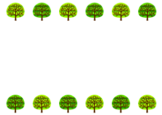 Green Trees Border