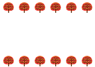Red Trees Border