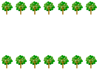 Pop Trees Border