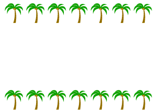 Palm Trees Border