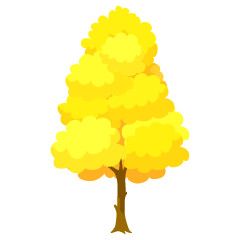 Yellow Tree Clipart