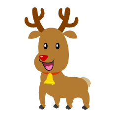 Cute Reindeer Cartoon
