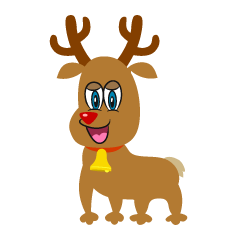 Reindeer Character Cartoon