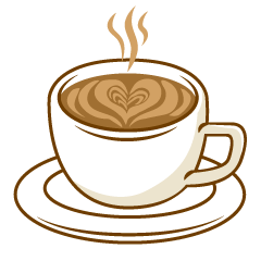 Hot Latte Clipart