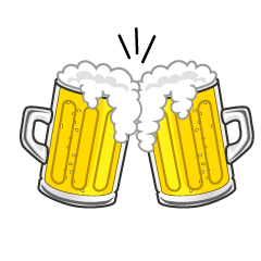 Beer Toast Clipart