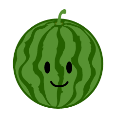 Cute Watermelon Clipart