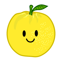 Cute Grapefruit Clipart