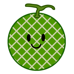 Cute Melon Clipart