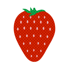 Strawberry Plaid Clipart