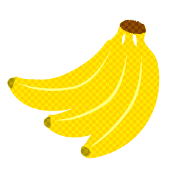 Bananas Plaid Clipart