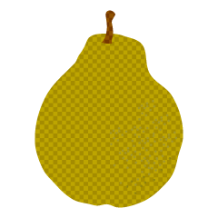 Pear Plaid Clipart
