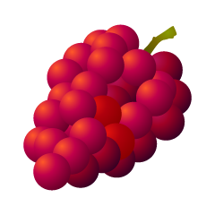Red Grape Clipart