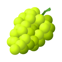 Yellow Grape Clipart