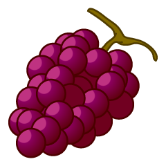 Simple Grape Clipart