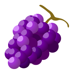 Pale Grape Clipart