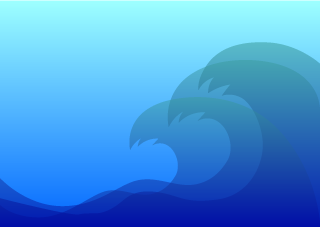 Big Wave Background