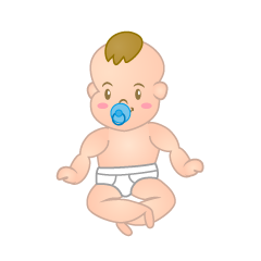 Sitting Baby Clipart