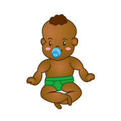 Pacifier Baby Clipart
