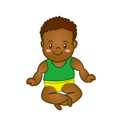 Baby 2 Years Old Clipart