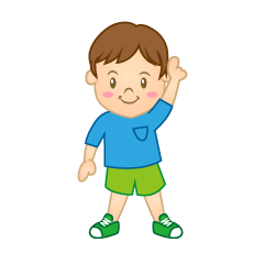 Pointing Boy Clipart
