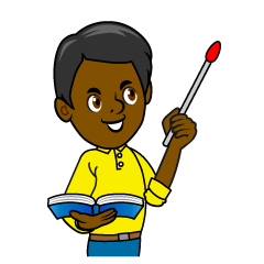 Pointing Teacher Clipart