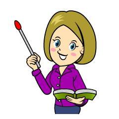 Female Teacher Clipart