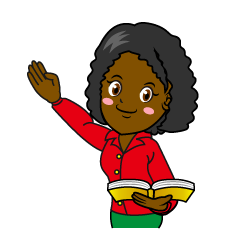 Female Teacher Teaching Clipart