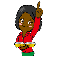 Female Teacher Attention Clipart