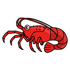 Spiny Lobster Clipart