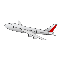 Flying Airplane Clipart