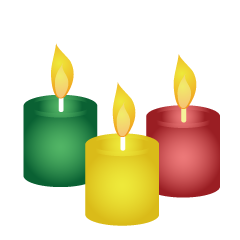 Many Candles Clipart