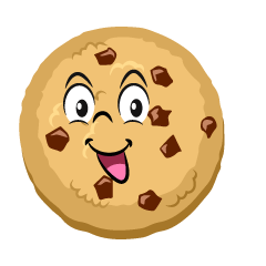 Smiling Cookie Cartoon