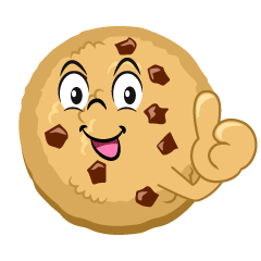 Thumbs up Cookie Cartoon