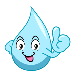 Thumbs up Water Cartoon