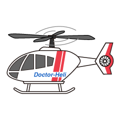 Doctor Helicopter Clipart